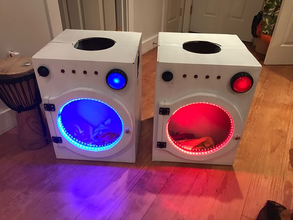 Washing Machine Halloween Costume